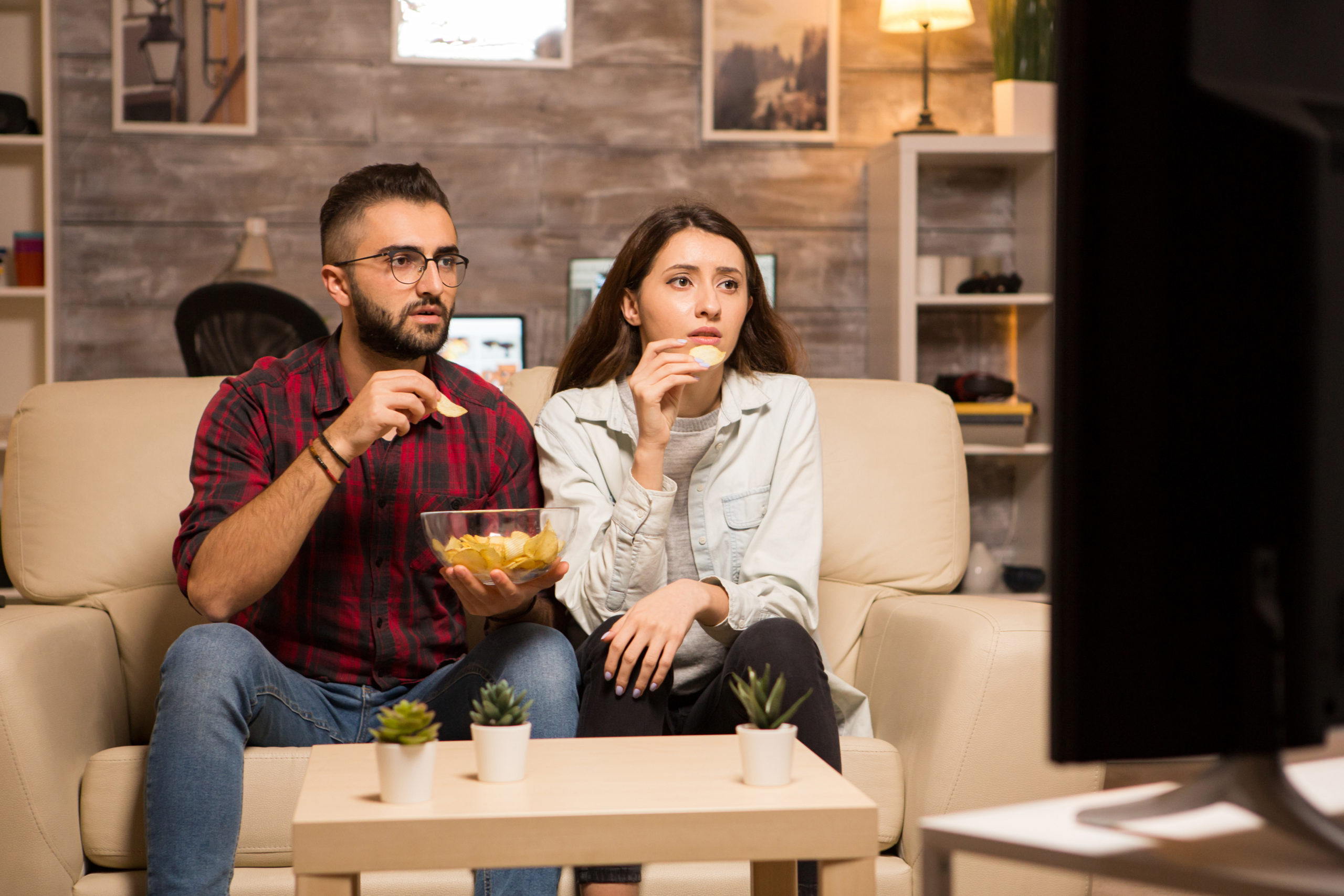 Why can't I get BBC iPlayer on my Samsung Smart TV? https://elements.envato.com/beautiful-young-couple-looking-worried-at-tv-WCGE87A