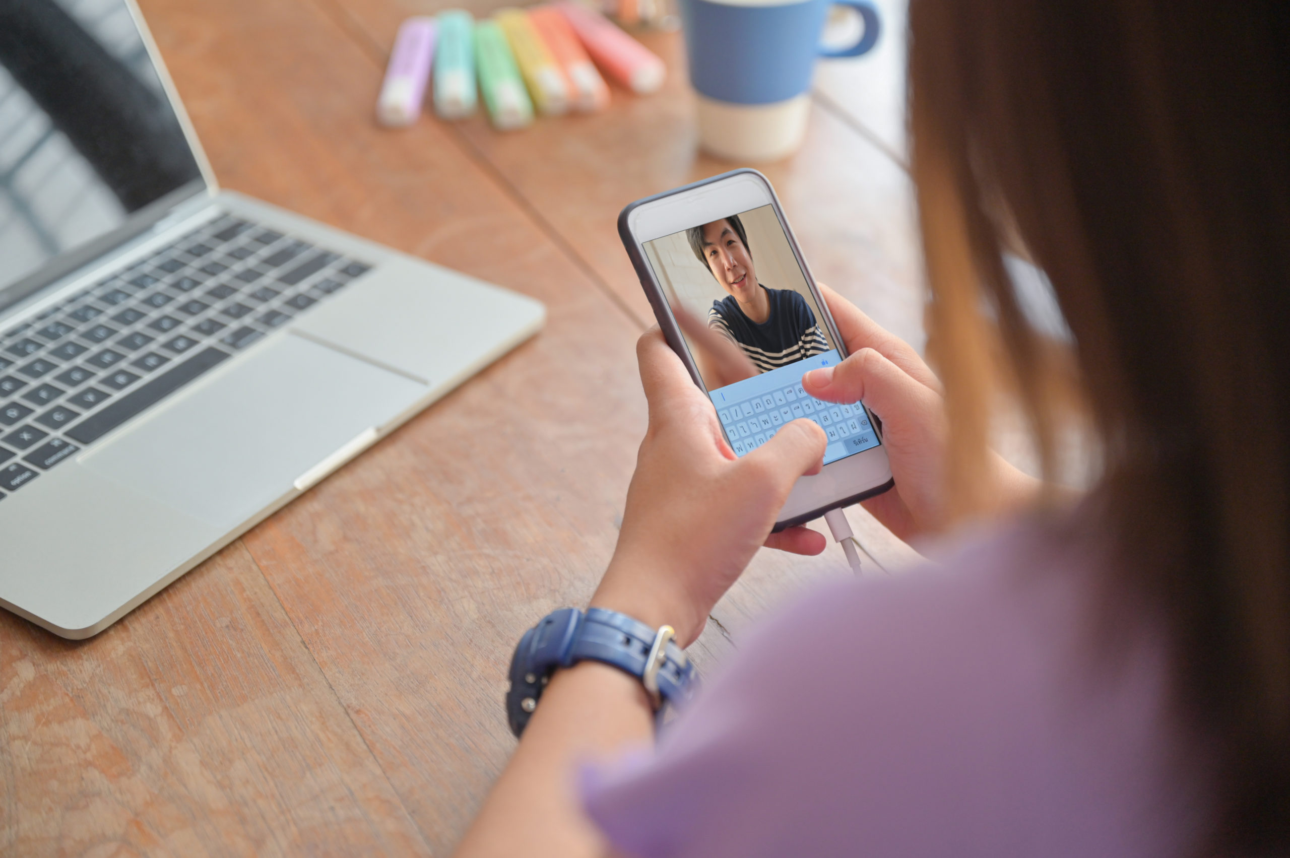 https://elements.envato.com/young-women-video-calling-with-lovers-on-a-smartph-UDS2WLW