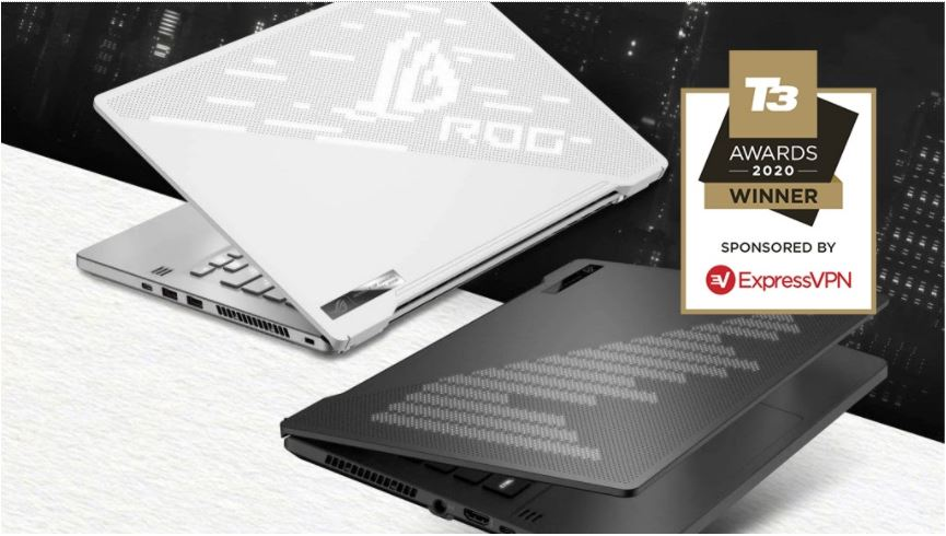 Zephyrus G14 awarded Best Gaming Laptop at the T3 2020 Awards