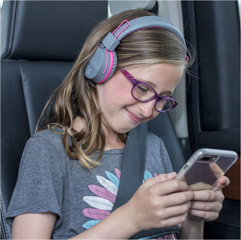 JLab's on-ear CloudFoam cushions are comfortable even for long listening sessions.