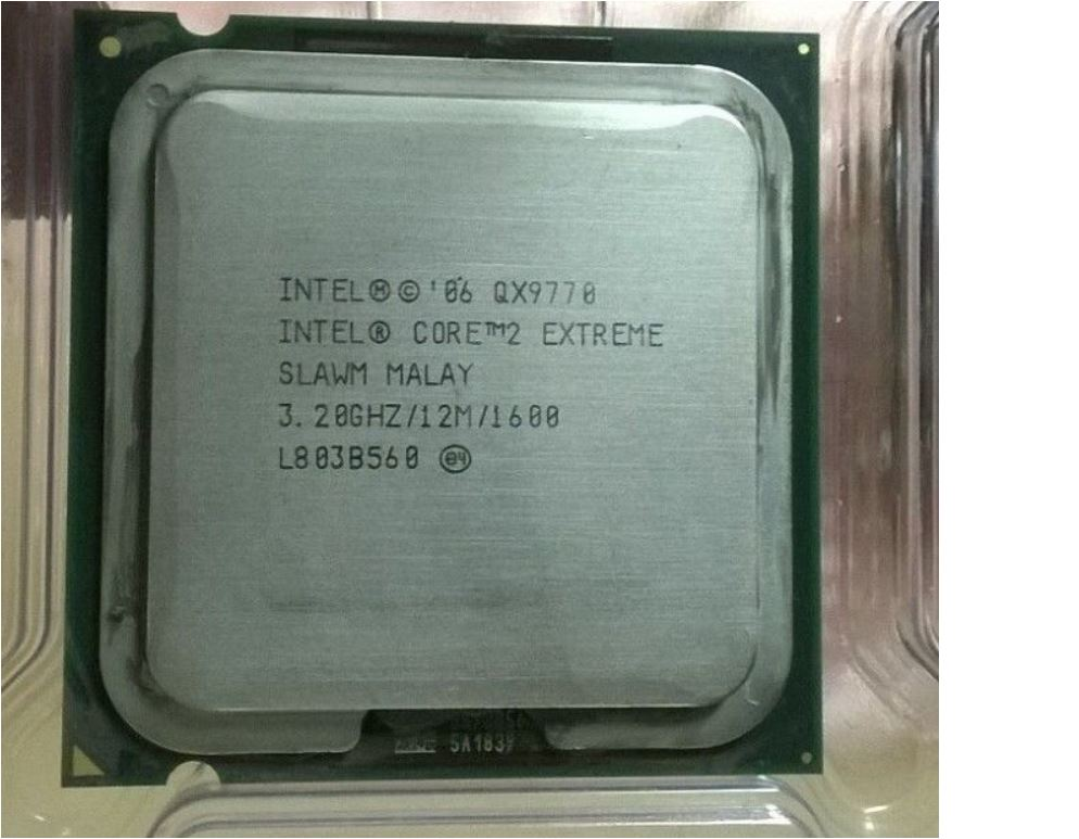 Intel Core 2 Quad Extreme QX 9770