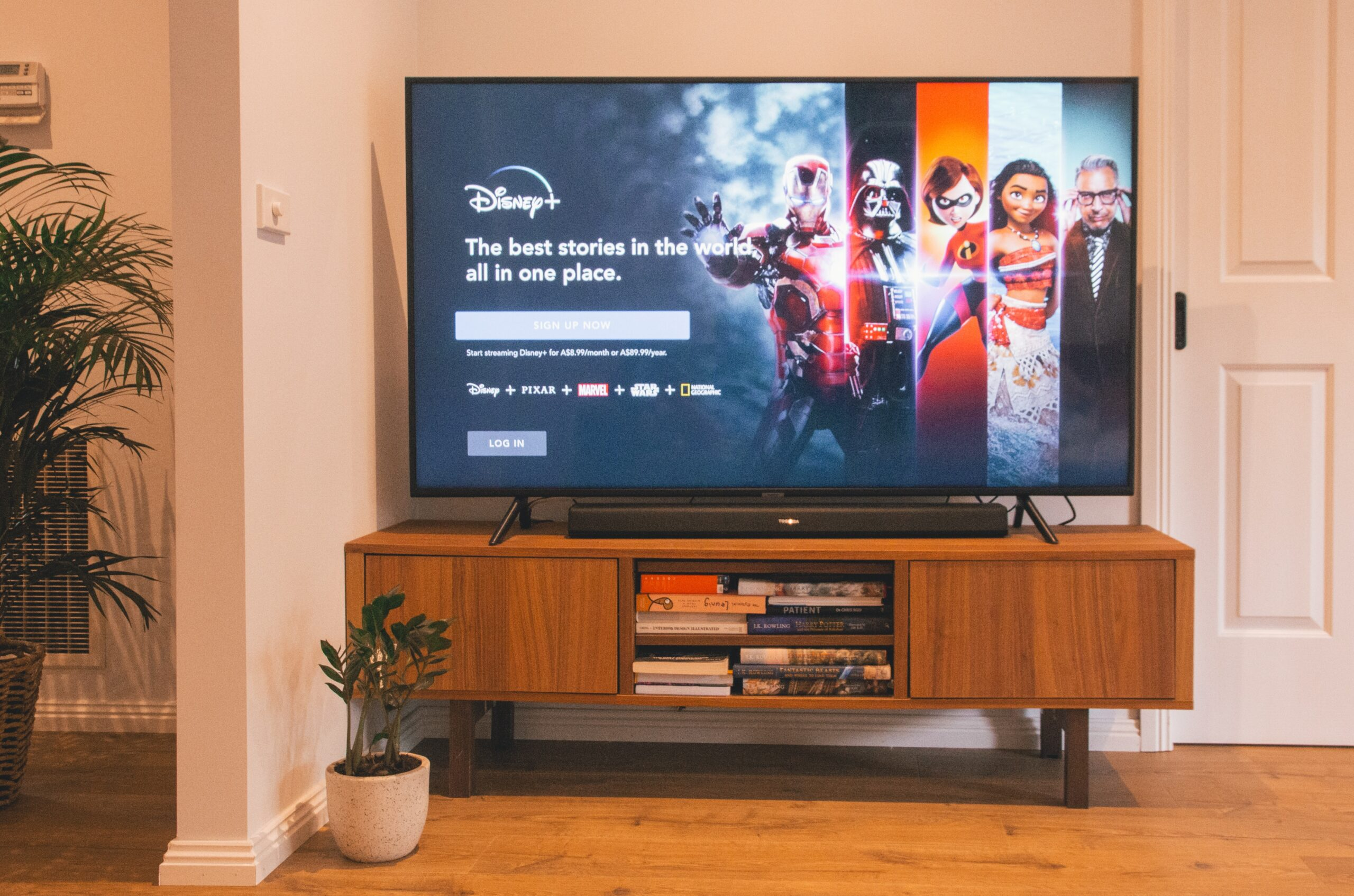 how to get Disney Plus on an older sony Smart TV