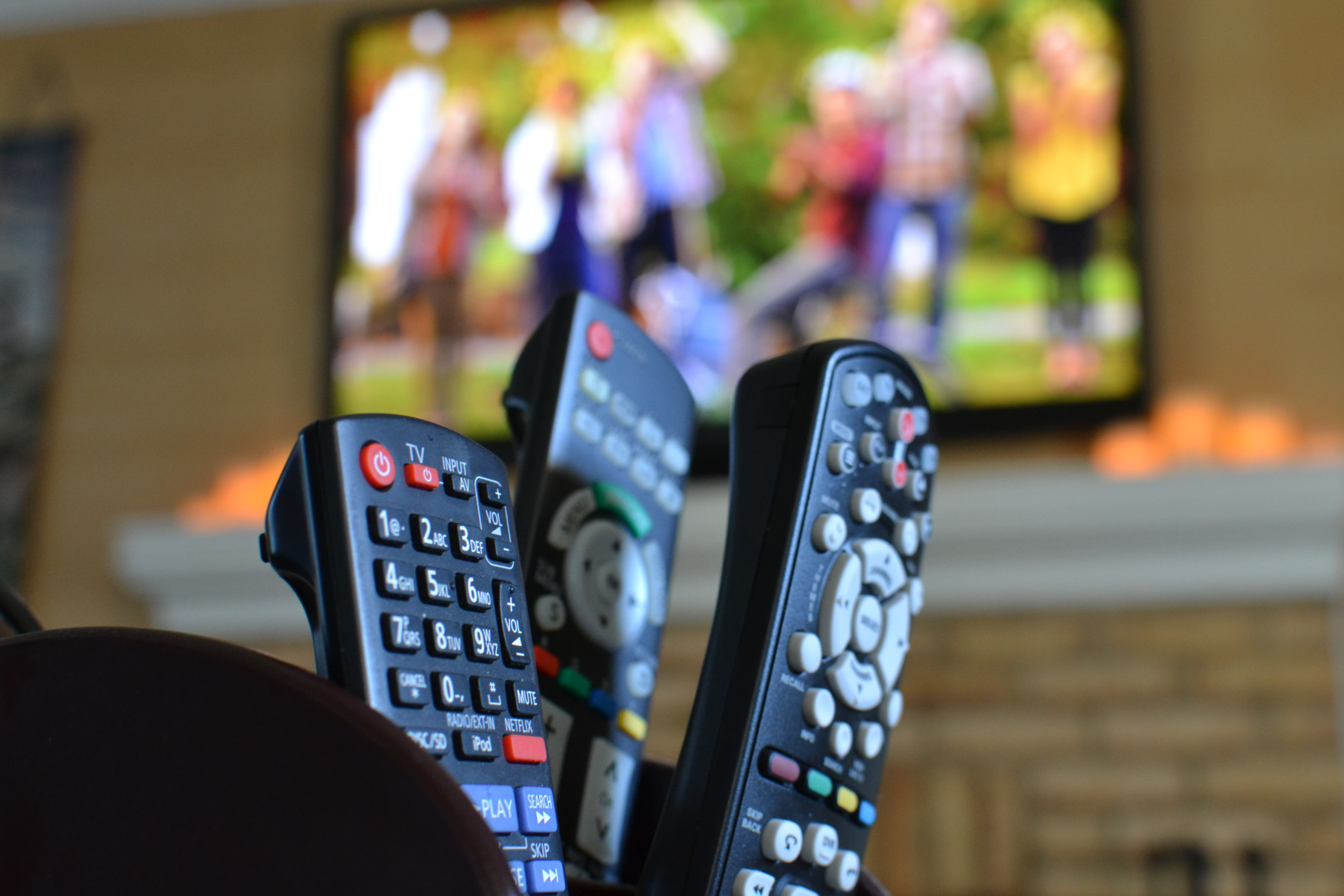 Panasonic remote only turns the tv on and off : How to fix?